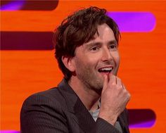 David Tennant Photo Of The Day - 10th April 2014:  Appearing on 'The Graham Norton Show' - April 2011