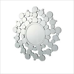 Bubble Mirror in Clear by Stoneleigh & Roberson