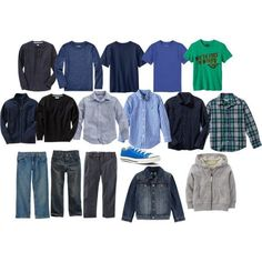 Boy's Back-to-School Capsule Wardrobe