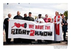 The Right2kNOW Campaign Campaign, Organizations