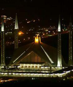 Gem of the city, Faisal Mosque, Islamabad.