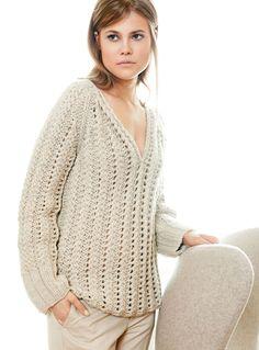 Lana Grossa V-PULLOVER Alta Moda Superbaby - design special No. 3 - Modell Seite 31 | FILATI.cc WebShop