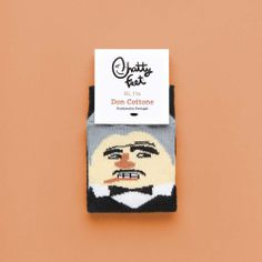 Don Cottone Jr is the perfect pair of socks for when you're planning your future empire. Our funny kids' socks will help you out as you ensure your friends and family get the best that life has to offer - your enemies? Less so...