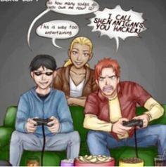 Robin, Artemis, KF