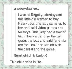 This Child Wins In Life