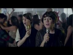 Tegan and Sara - Closer Video - 90s Karaoke Sleepover Complete with Spin the Bottle & Forts. UM YES.