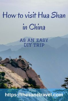 A travel guide to Hua Shan, including visiting Hua Shan Mountain, a short trip from Xi'an, China Travel Advice, Travel Guides, Travel Tips, Travel Destinations, China Travel, Japan Travel, China Trip, Travel Couple, Family Travel
