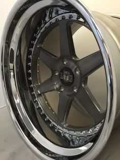 "18"" Berlin Forged 3 Piece (single Wheel) 5 Lug /Polished Outer,DDT center"