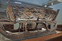 Ancient Viking sled found on the Osberg Viking ship