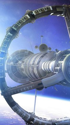 Space Planet Ship Art Star #iPhone #5s #wallpaper