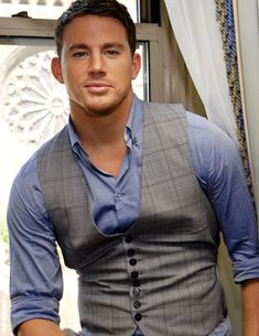 channing tatum.  I know.  Every girl loves him...how can you not?