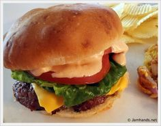 In-N-Out Cheeseburger Copycat | Mom Spark™ - A Blog for Moms - Mom Blog
