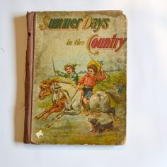 1903 Summer Days in the Country Childrens by KrisVintageClothing, $40.00