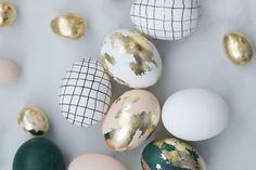 Mini Easter Eggs + Creative Ways to Decorate
