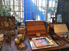 Inside Frida Kahlo's Studio