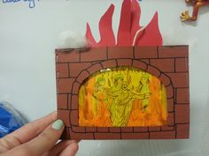 Shadrach, Meshach and Abednego in the fiery furnace craft