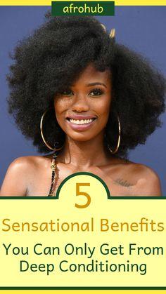Natural Hair Growth Tips, Best Natural Hair Products, Natural Hair Regimen, Natural Hair Styles, Organic Hair Care, Hair Porosity, Full Hair, Deep Conditioning