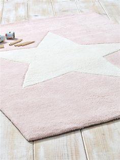 Teppich, reine Baumwolle ZARTROSA