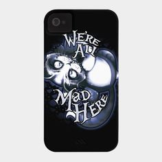 Cheshie Mad Tee Party Phone Case By EmilieBoisvert Design By Humans
