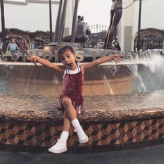 May 2017  North West, who often puts together her own outfits, was extra silly in a photo for her mom at Universal Studios.