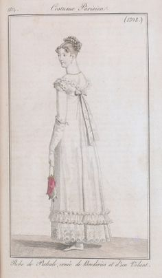 1814 Costume Parisien No 1398