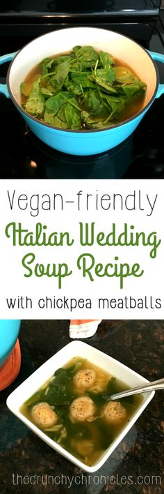 Find This Pin And More On Clean Eating Recipes Vegan Italian Wedding Soup