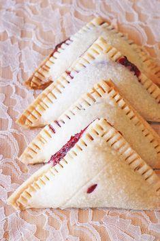 Gluten Free Vegan Raspberry Hand Pies #brown_rice_flour #shortening #coconut_creamer