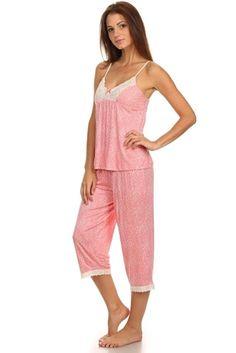 13.28 Womens 2 Piece Sleepwear Tank Top e80bf367f