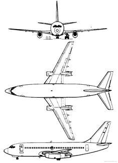 Aircraft blueprint boeing 737 100 blueprints pinterest related image malvernweather Choice Image