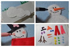 Here are just a few of the different ways to dress up the snowman on this felt board we are about to make. Description from craftsbyamanda.com. I searched for this on bing.com/images
