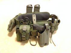 My HSGI Battle Belt with HK P30