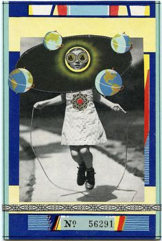 Revolution, 2011.  Collage by Angelica Paez.