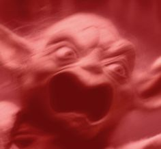 angry red yoda - Google Search