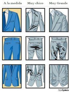 cómo usar un traje