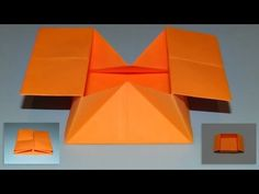 Origami Pop Out Envelope - Wonderful InnovationsThis beautiful pop out envelope is great for Valentine's Day, Christmas and Birthdays! You can also use this origami as a gift box.Risultati immagini per origami paul jackson boxOrigami Archives - Pag Cool Paper Crafts, Craft Stick Crafts, Diy Paper, Origami Envelope, Envelope Box, Origami Boxes, Arte Pop Up, Origami Ball, Dollar Origami