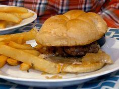 Rueben Burger Recipe : Robert Irvine : Food Network - FoodNetwork.com