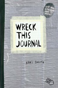 Free Shipping Wreck This Journal Everywhere By Keri Smith 144 Pages English Original Book Wreck This Journal black expanded Ed