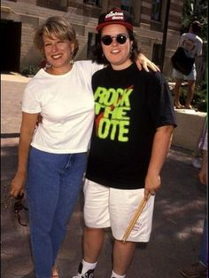 Bette Midler and Rosie