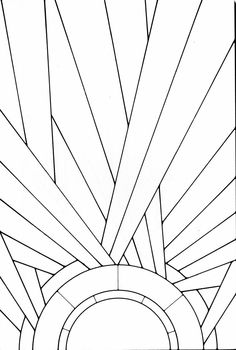 Art Deco Stained Glass Pattern Book : from Art Deco Stained Glass Pattern Book Livro com estampas e padronagens artdeco Arte Art Deco, Motif Art Deco, Estilo Art Deco, Art Deco Decor, Art Deco Stil, Art Deco Wall Art, Verre Design, Glass Art Design, Art Deco Design