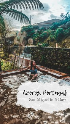 5 Days in Sao Miguel Portugal Vacation, Portugal Travel Guide, Solo Travel Europe, European Travel, Cool Places To Visit, Places To Travel, Places To Go, Portugal Highlights, Portugal Attractions