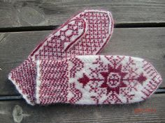 Ravelry: Project Gallery for Anundsjövante pattern by Solveig Larsson Knitted Mittens Pattern, Crochet Mittens, Fingerless Mittens, Knitted Gloves, Knit Crochet, Knitting Charts, Knitting Socks, Hand Knitting, Knitting Patterns