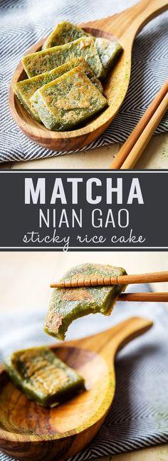 Matcha Nian Gao   The Worktop
