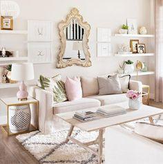 jueves, 29 de junio de 2017 DECORA TU CASA EN COLOR ROSA Hola Chicas!!! Si eres soltera, vives por tu cuenta y te gusta el color rosa, aqui te dejo una galeria de fotografias para que te inspires y decores tu departamento en color rosa, lucirá super femenino y romantico, es sencillo puedes pintar algunos muebles, pared o simplemente agregar accesorios decorativos en color rosa.