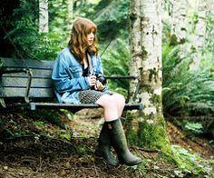 A Swedish Mori Girl | via Tumblr