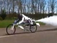 Man sets speed record on bike fueled by ingredient used to dye hair