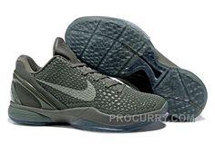 "wholesale dealer e6db8 471b0 Nike Zoom Kobe 6 ""Fade To Black"" Basketball Shoes New Arrival"