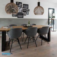 lamel parket vloer - Lilly is Love Dining Room Bench, Home Interior Design, Living Room Designs, Kitchen Remodel, Sweet Home, Room Decor, Decoration, Furniture, Eindhoven
