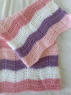 Lises hjertgleder: Heklet babyteppe Lisa, Homemade, Blanket, Crochet, Fashion, Baby Afghans, Bed Covers, Bebe, Threading