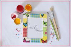 #decoupage #handmade #frames #phoframe #gifts #butterly #decorama