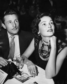 Gene Tierney and husband Oleg Cassini, 1948